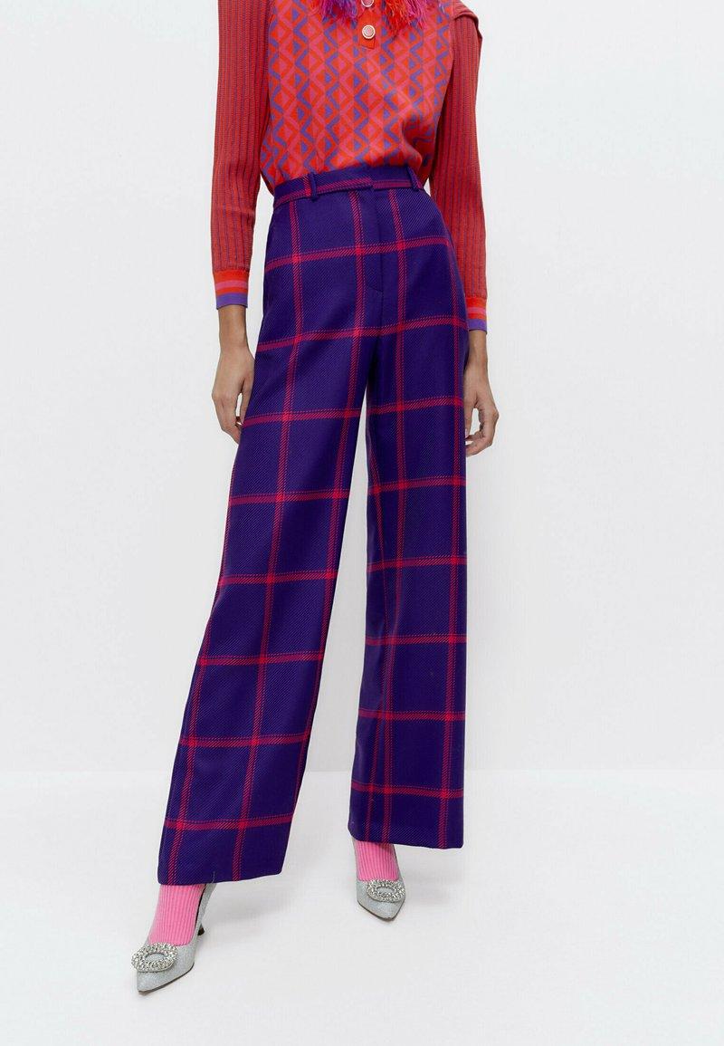 Uterqüe - Trousers - purple
