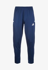 adidas Performance - TEAM19 - Tracksuit bottoms - navy blue/white - 0