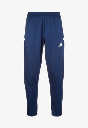 TEAM19 - Tracksuit bottoms - navy blue/white