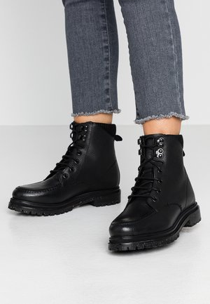 MARLOW - Lace-up ankle boots - black