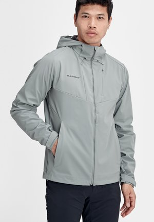 Soft shell jacket - granit