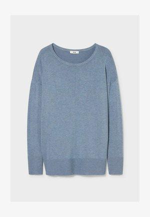 Sweter - blue-melange