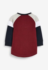 Next - COSY COLOURBLOCK - Long sleeved top - red - 1