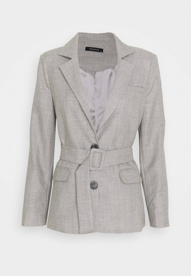 Trendyol - Krótki płaszcz - gray
