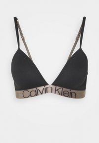 ICONIC LINED TRIANGLE - Triangle bra - black