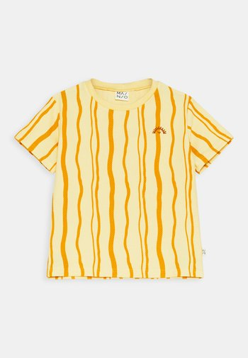 SAND WAVE UNISEX - Print T-shirt - straw