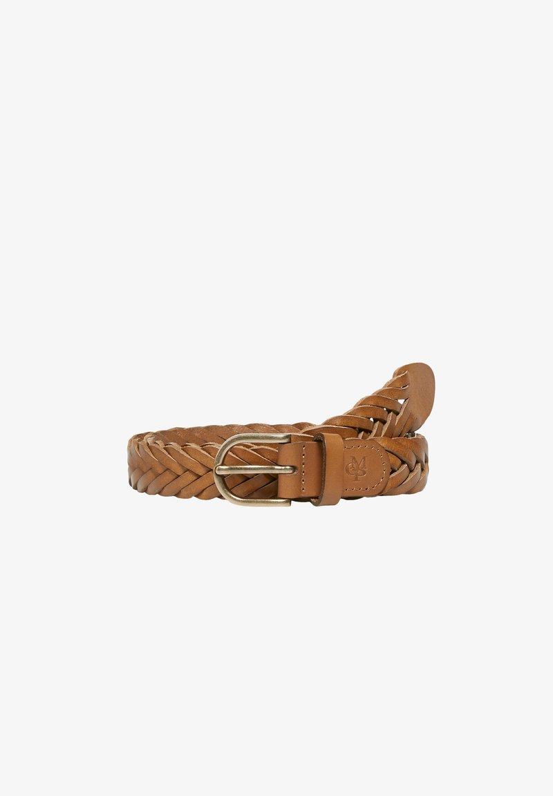 Marc O'Polo - Belt - caramel brown