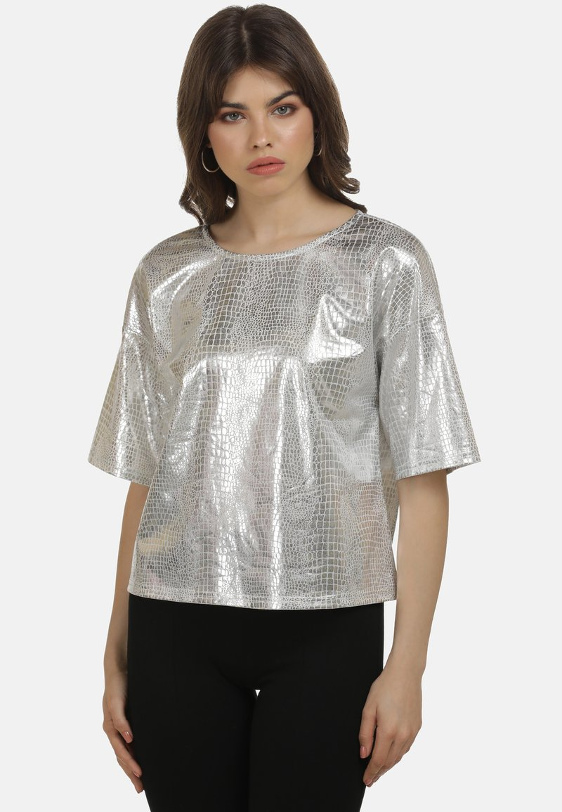 myMo at night - Blouse - silber