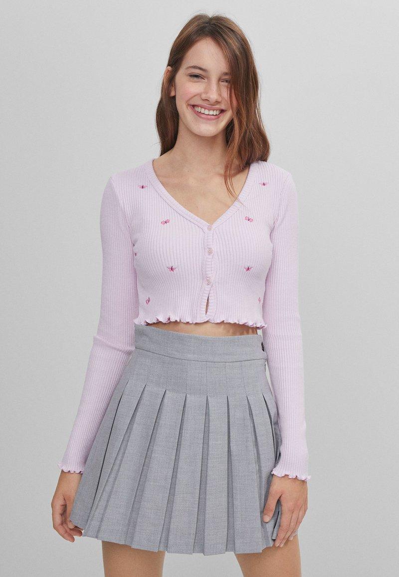 Bershka - Kardigan - pink