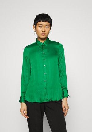 DILLON SOFT  - Button-down blouse - luscious green