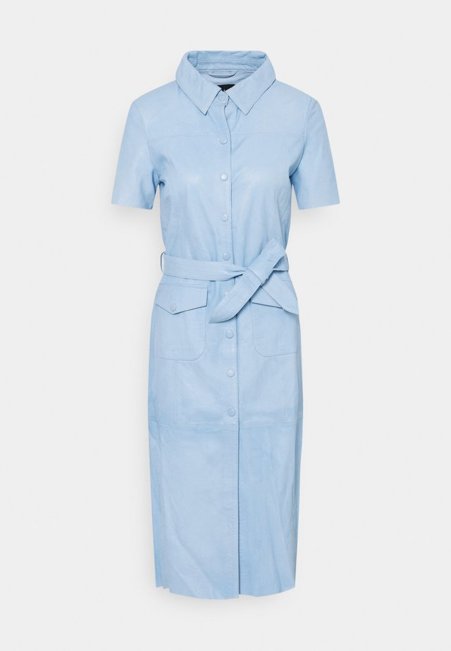 DAMIA - Robe chemise - sky blue