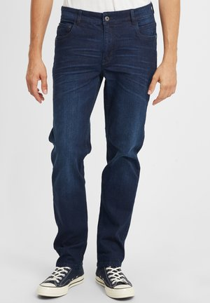 FYNN - Straight leg jeans - dark blue denim