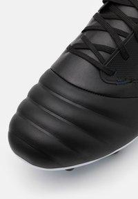 Umbro - TOCCO PREMIER FG - Moulded stud football boots - black/white/victoria blue - 5