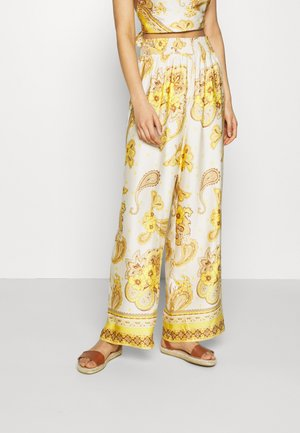 BALI TROUSER - Trousers - yellow scarf