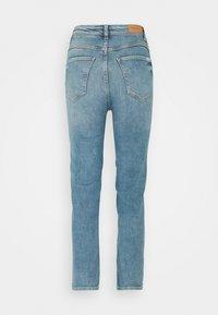 Marc O'Polo DENIM - TOERE - Straight leg jeans - reddish light blue - 1