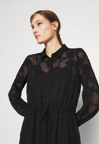 Moss Copenhagen - SERICE DRESS - Košilové šaty - black - 3