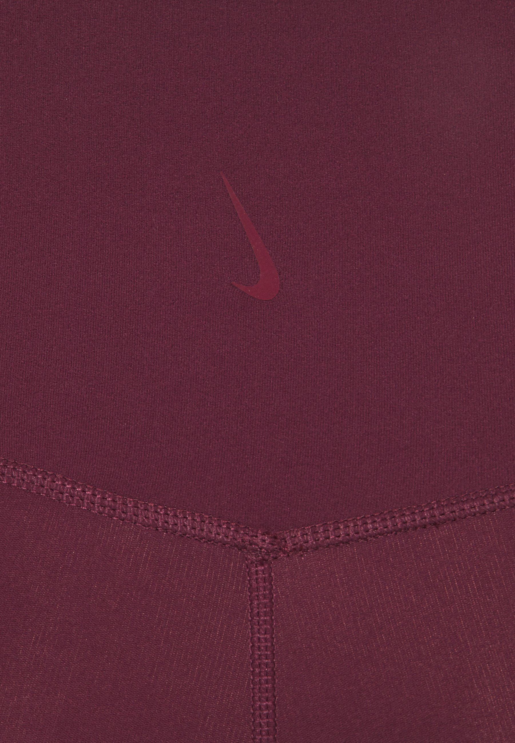 Nike Performance The Yoga Luxe - Medias Night Maroon/team Red