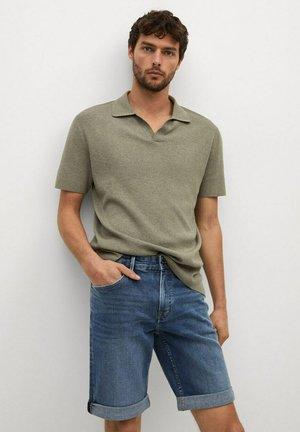 Denim shorts - donkerblauw