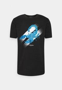 Alessandro Zavetti - SCORPION TEE - Print T-shirt - black - 0