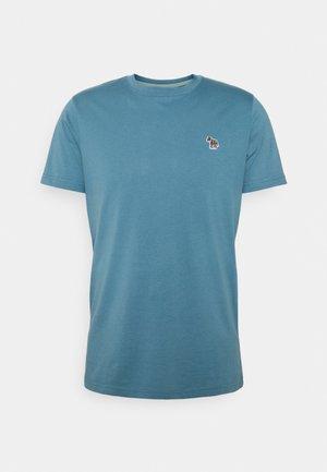 ZEBRA BADGE UNISEX - Basic T-shirt - blue
