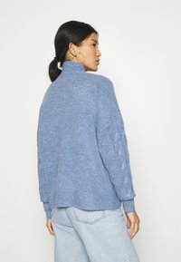 GAP - JAC CABLE SLOUCHY - Jumper - denim blue heather - 2