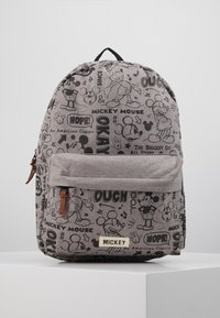 Kidzroom - BACKPACK MICKEY MOUSE REPEAT AFTER ME - Mochila - grey - 0