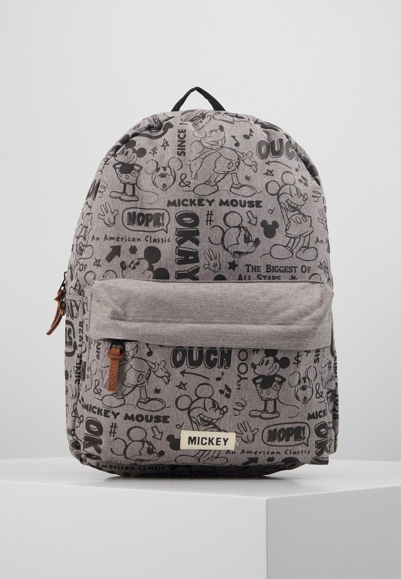 Kidzroom - BACKPACK MICKEY MOUSE REPEAT AFTER ME - Mochila - grey