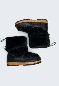 OYSHO - Snowboots  - black - 1