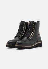 Steffen Schraut - 17 ZIP STREET - Lace-up ankle boots - black - 2