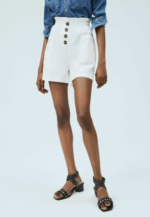 NELL - Shorts - blanco off