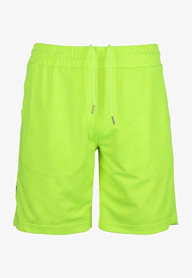MBN STRIPE - Shorts - neon