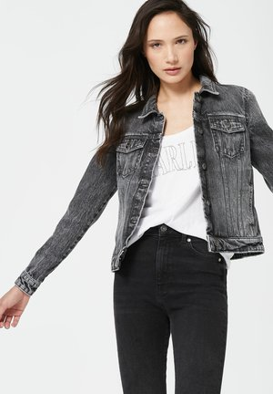 JU-DY  - Denim jacket - anthracite