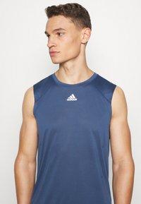 adidas Performance - HEAT.RDY  - Sports shirt - tech indigo - 3