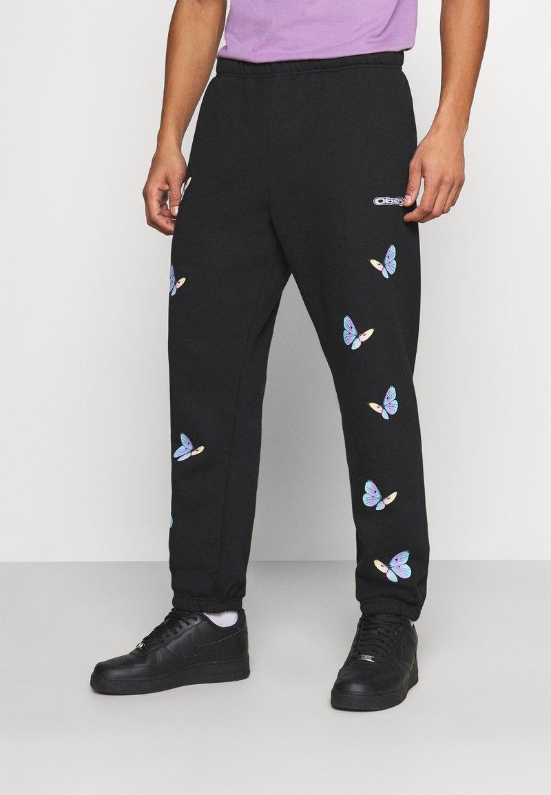 Obey Clothing - KYOTO - Pantalones deportivos - black