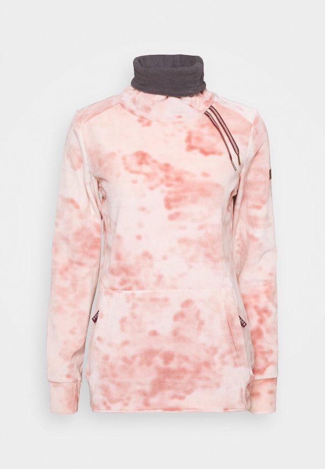 DELTINE  - Fleecepullover - silver pink