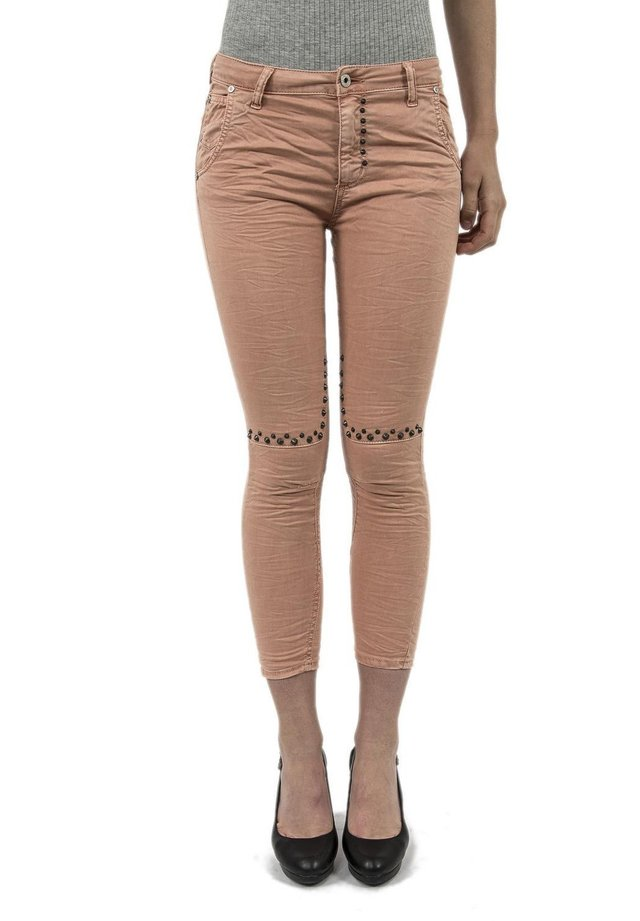 Jeans Skinny - rose