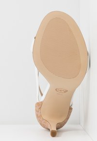 MICHAEL Michael Kors - ANTONIA - High heeled sandals - optic white/multicolor - 6