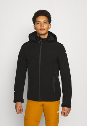BRIMFIELD - Kurtka Softshell - black