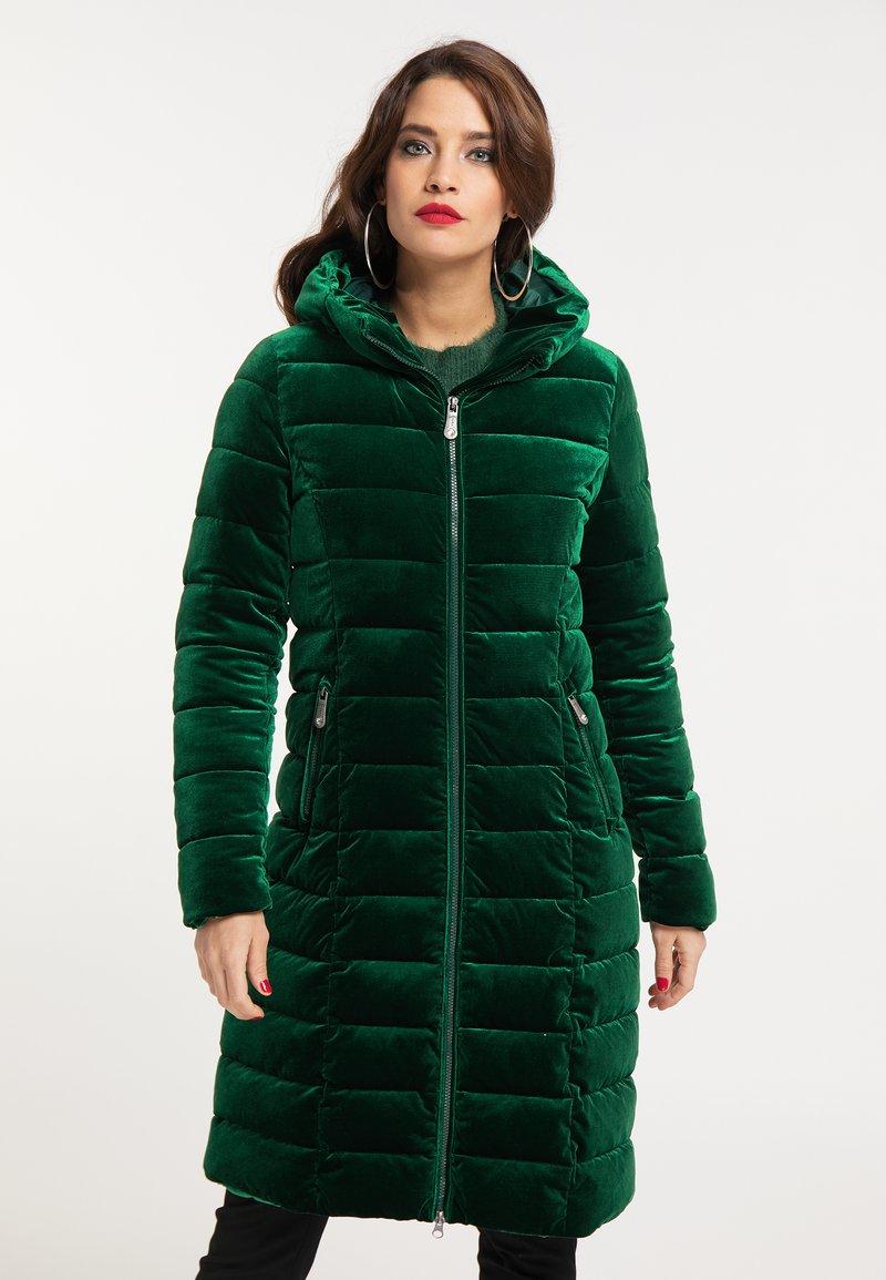faina - Winter coat - smaragd