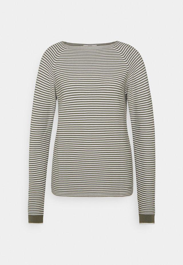 Sweter - light khaki