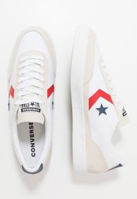 Converse - NET STAR CLASSIC - Baskets basses - white/university red/navy - 1