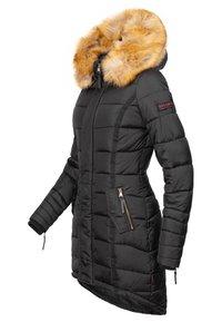Navahoo - PAPAYA - Winter coat - black - 2