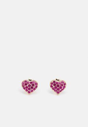 POST HEART - Earrings - fuchsia