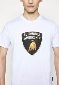Lamborghini - T-shirt imprimé - white - 5