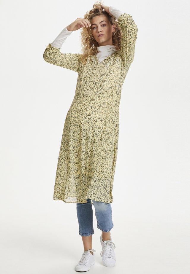 DHAGNES - Sukienka letnia - light yellow