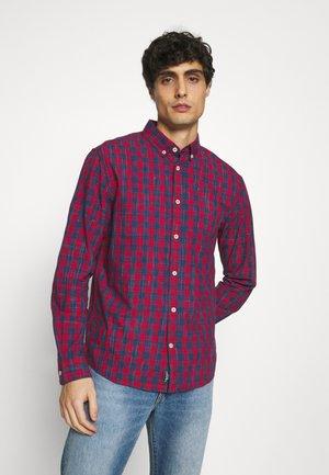 REGULAR CLASSIC CHECK - Košile - red/navy