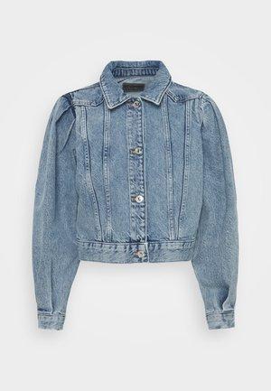 ONLCHARLIE LIFE PUFF - Jeansjakke - medium blue denim