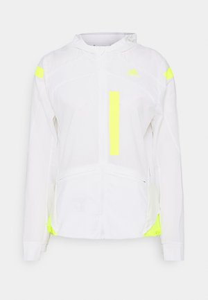 MARATHON  - Sports jacket - white/syello