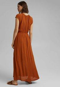 Esprit - Maxi dress - caramel - 2