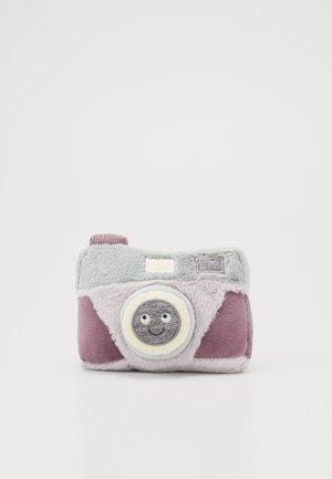 WIGGEDY CAMERA - Cuddly toy - grey